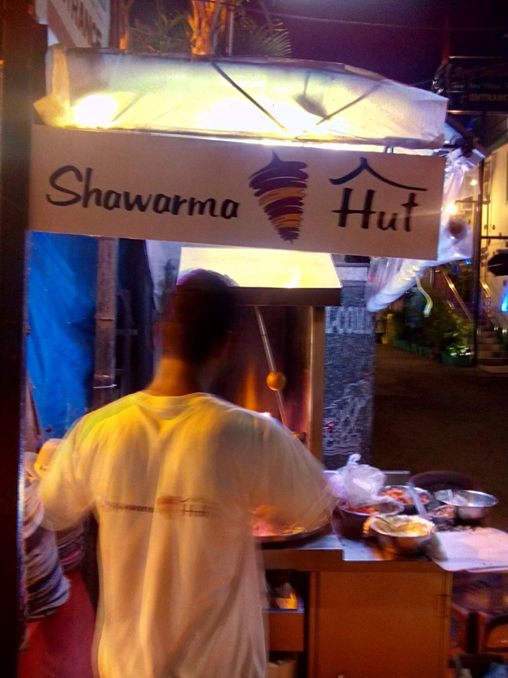 Relishing Barbecue 'Shawarma Style': Review-Shawarma Hut, Shawarma